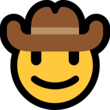 Cowboy Hat Face on Microsoft Windows 10 May 2019 Update