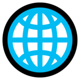 Globe with Meridians on Microsoft Windows 10 May 2019 Update