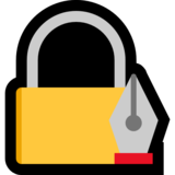 Locked with Pen on Microsoft Windows 10 May 2019 Update