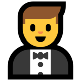 Person in Tuxedo on Microsoft Windows 10 May 2019 Update