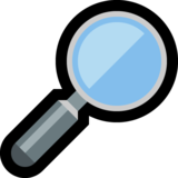 Magnifying Glass Tilted Right on Microsoft Windows 10 May 2019 Update