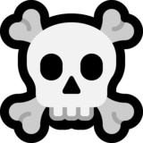 Skull and Crossbones on Microsoft Windows 10 May 2019 Update