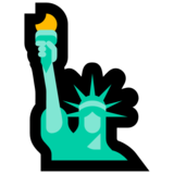 Statue of Liberty on Microsoft Windows 10 May 2019 Update