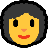 Woman: Curly Hair on Microsoft Windows 10 May 2019 Update