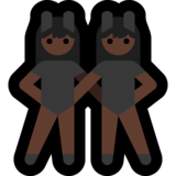 Women With Bunny Ears Partying, Type-6 on Microsoft Windows 10 May 2019 Update