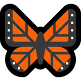 Butterfly on Microsoft Windows 10 Anniversary Update