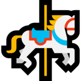 Carousel Horse on Microsoft Windows 10 Anniversary Update