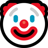 Clown Face on Microsoft Windows 10 Anniversary Update