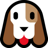 Dog Face on Microsoft Windows 10 Anniversary Update