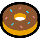 Doughnut on Microsoft Windows 10 Anniversary Update