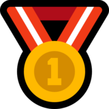 1st Place Medal on Microsoft Windows 10 Anniversary Update