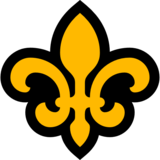 Fleur-de-lis on Microsoft Windows 10 Anniversary Update