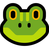 Frog Face on Microsoft Windows 10 Anniversary Update