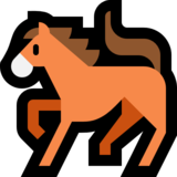 Horse on Microsoft Windows 10 Anniversary Update