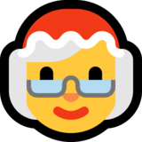 Mrs. Claus on Microsoft Windows 10 Anniversary Update