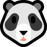 Panda Face on Microsoft Windows 10 Anniversary Update