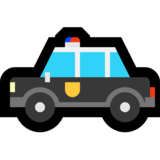 Police Car on Microsoft Windows 10 Anniversary Update