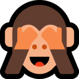 See-No-Evil Monkey on Microsoft Windows 10 Anniversary Update