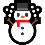 Snowman on Microsoft Windows 10 Anniversary Update