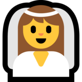 Person With Veil on Microsoft Windows 10 Creators Update