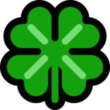🍀 Four Leaf Clover Emoji on Microsoft Windows 10 Creators