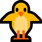 Front-Facing Baby Chick on Microsoft Windows 10 Creators Update