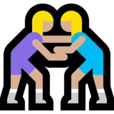 Women Wrestling, Type-3 on Microsoft Windows 10 Creators Update