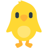 Front-Facing Baby Chick on Mozilla Firefox OS 2.5