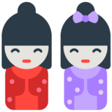 Japanese Dolls on Mozilla Firefox OS 2.5