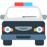 Oncoming Police Car on Mozilla Firefox OS 2.5