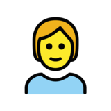 Person on OpenMoji 1.0