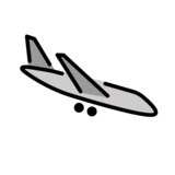 Airplane Arrival on OpenMoji 1.0