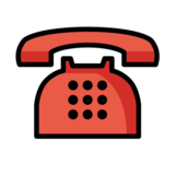 Telephone on OpenMoji 1.0