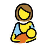 Breast-Feeding on OpenMoji 1.0