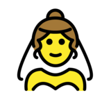 Person With Veil on OpenMoji 1.0