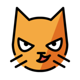 Cat with Wry Smile on OpenMoji 1.0