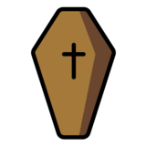 Coffin on OpenMoji 1.0