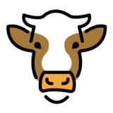 Cow Face on OpenMoji 1.0