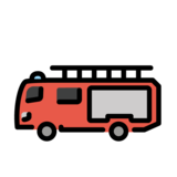 Fire Engine on OpenMoji 1.0