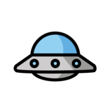 Flying Saucer on OpenMoji 1.0