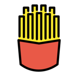 French Fries on OpenMoji 1.0