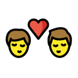 Kiss: Man, Man on OpenMoji 1.0
