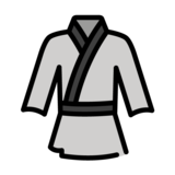Martial Arts Uniform on OpenMoji 1.0