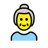 Old Woman on OpenMoji 1.0
