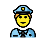 Police Officer on OpenMoji 1.0