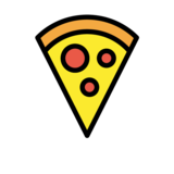 Pizza on OpenMoji 1.0