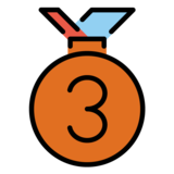 3rd Place Medal on OpenMoji 1.0