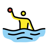 Person Playing Water Polo on OpenMoji 1.0