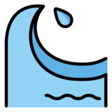Water Wave on OpenMoji 1.0