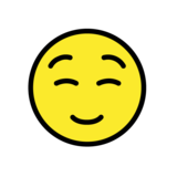 Smiling Face on OpenMoji 1.0